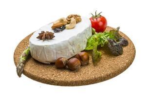 queijo brie macio fresco foto