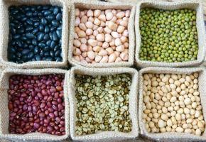 grãos, cereais, alimentação saudável, nutrição foto