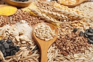 coleção de cereais foto