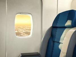 janela de avião foto