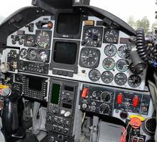 cabine de avião foto