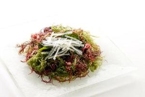 salada de algas foto