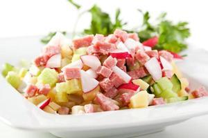 tigela de salada foto