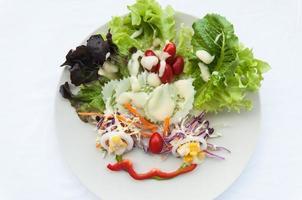 salada mista foto