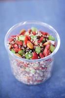 salada de quinoa foto