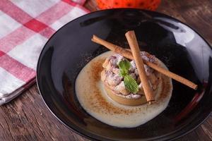 salada de tofu foto
