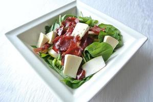 salada de rúcula foto