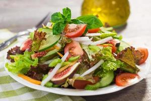 salada fresca saudável