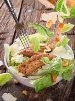salada caesar fresca foto