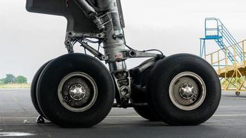 avião de roda foto