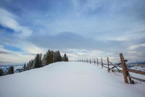paisagem de inverno foto