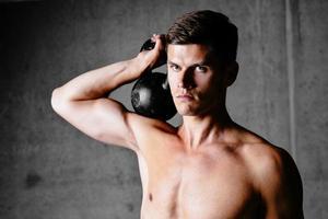 musculação faz você mais forte foto