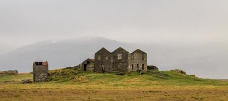 paisagem na islândia foto