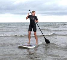 prancha de stand up paddle foto