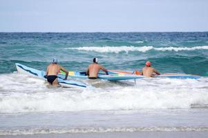 corrida de surf foto