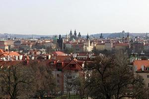 st. paisagem da catedral de vitus foto