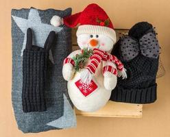 conjunto de inverno foto