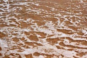 sol da areia do mar