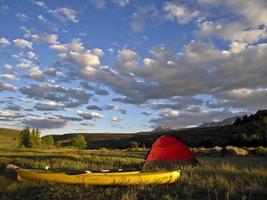 camping em colorado foto