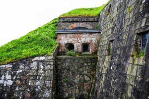 estrada de pedra antiga de 1800 foto