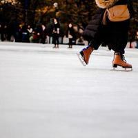 Patinagem no gelo foto