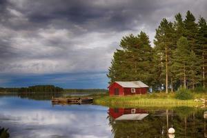 lago sueco foto