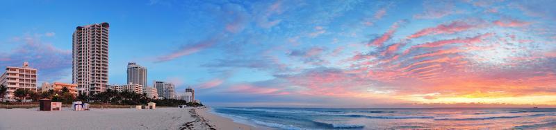 Praia de Miami foto