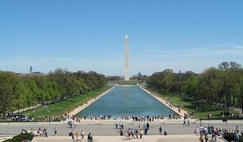 monumento de Washington foto