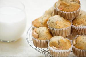 muffin de banana foto