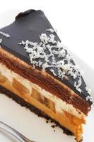 cheesecake de banana com chocolate foto
