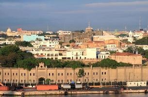 fortaleza osama e bairro colonial. santo domingo, dominicana foto