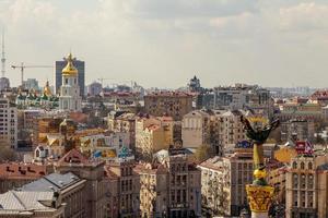 telhados de kiev foto