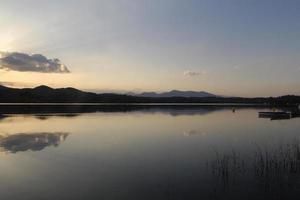 banyoles, lago foto