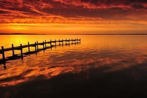 o lago dourado foto