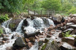 cachoeira do distrito do lago foto
