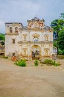 fachada da antiga igreja de el carmen