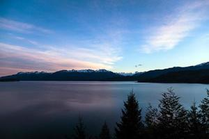 lago mágico foto
