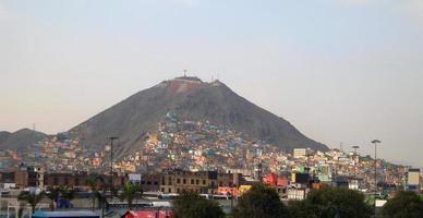 Lima no Peru foto