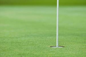 buraco de golfe foto