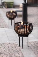 queimador ao ar livre foto