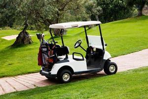 campo de golfe foto