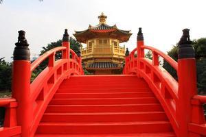 pavilhão dourado em hong kong foto