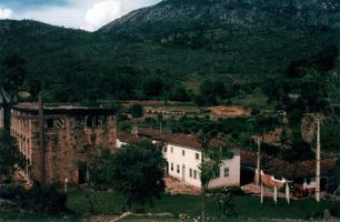 paisagem em santuário do caraça, minas gerais, brasil