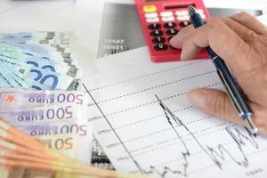 estudo de oportunidades financeiras foto