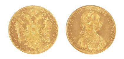 moeda de ouro foto