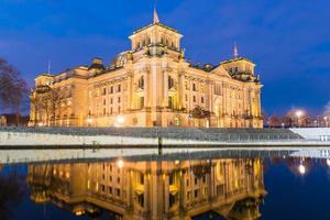 Reichstag de Berlim e paul-löbe haus