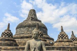 templo de borobudur, indonésia foto