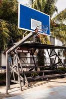 cesta de basquete. foto