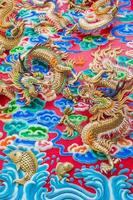 parede do dragão foto