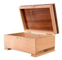 Caixa de madeira foto